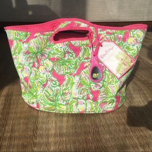 Lilly Pulitzer Insulated Beverage Bucket & Opener